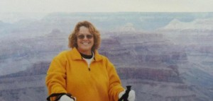 ruthie at grand canyon